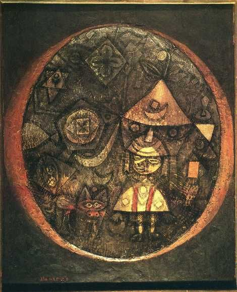 Paul Klee, Fairy tale of the Dwarf, 1925