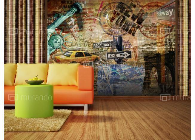 Metropole - New York #fototapeta #newyork #homedesign