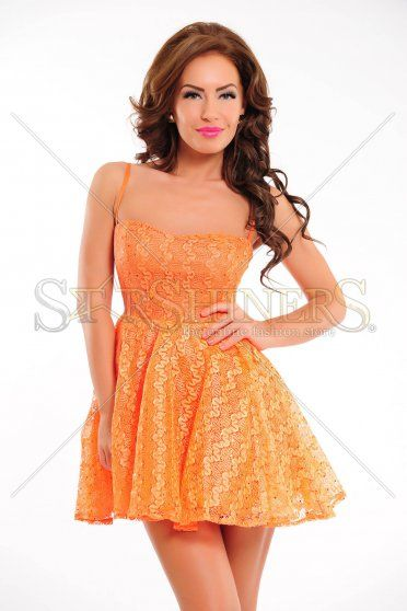 Rochie BB Dancing Queen Orange