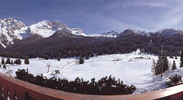Hotel Casa del Campo vista sulle piste da sci