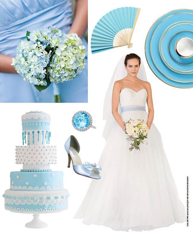 7 Light Blue Wedding Ideas