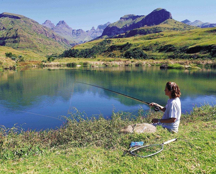 Trout fishing in the Drakensberg - South Africa