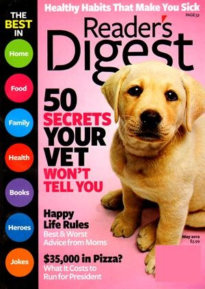 With a Readers Digest magazine subscription, you can stay on top of general interest stories. Each issue touches on topics that include politics, health, art, entertainment and of course, current events.