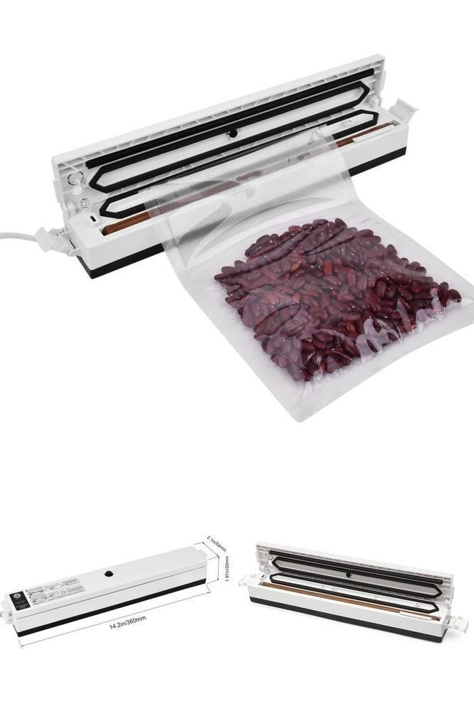 Automatic Food Vacuum Sealer Packaging Machine 2-in-1 Automatic Sealing System  #Doesnotapply
