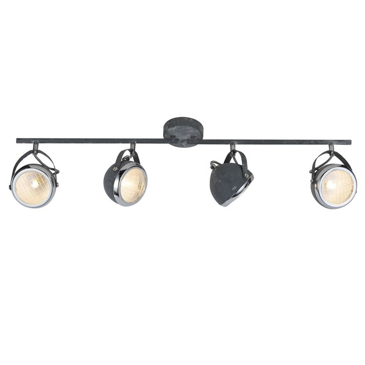 Ryders 4 - betongrijs - plafondverlichting - binnenverlichting  - Lichtkoning.be