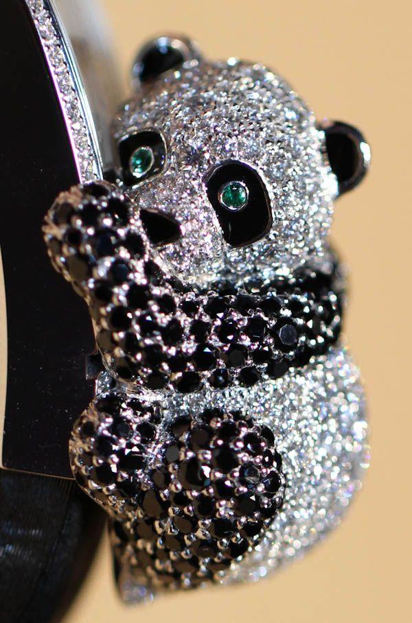 Cartier Secret Panda Watch