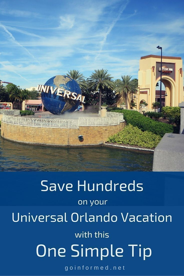this one simple tip can save money on your entire universal orlando rh pinterest com