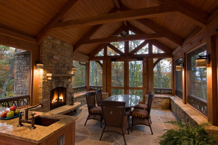 Screened In Porch This Balsam Mountain Preserve Property Enjoys A 300  Degree Panoramic View From Nearly