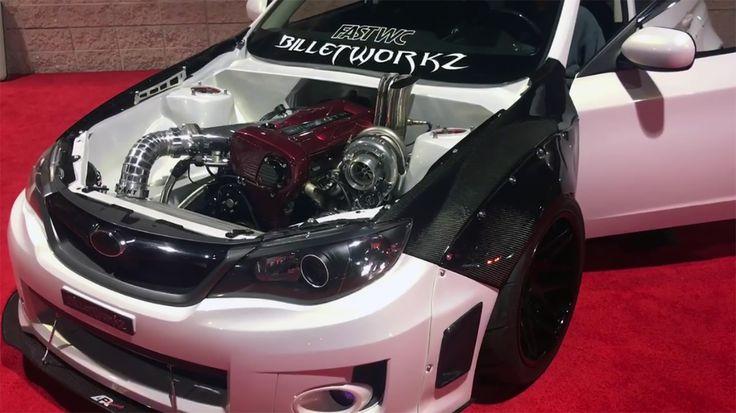 2012 Subaru WRX with a 2.6 L RB26 inline-six