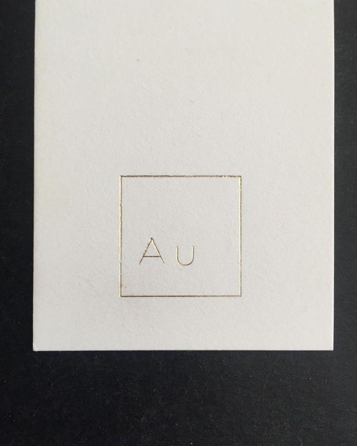 AUREUM brand identity // Swing tags {www.aureumdesign.com}  #aureumdesign #branding #dixielanddesigns #textiledesigner #nickylevenberg #goldfoil #savillerow #detail (at Johannesburg, South Africa)