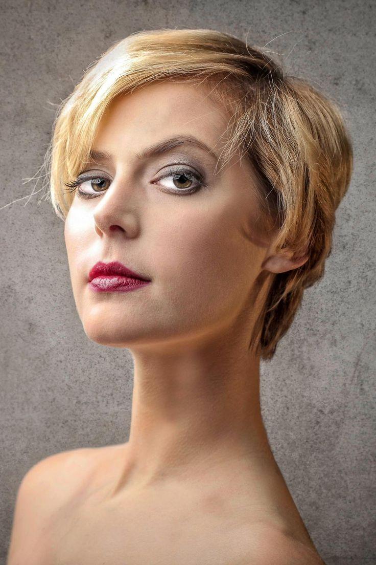 Unkomplizierte blonde Kurzhaarfrisur - Bildergalerie mit über 45 schicken Kurzhaarfrisuren