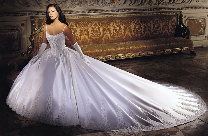 Billig brudekjole