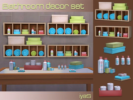 13 best sims 4 bathroom clutter images on pinterest for Bathroom decor essentials