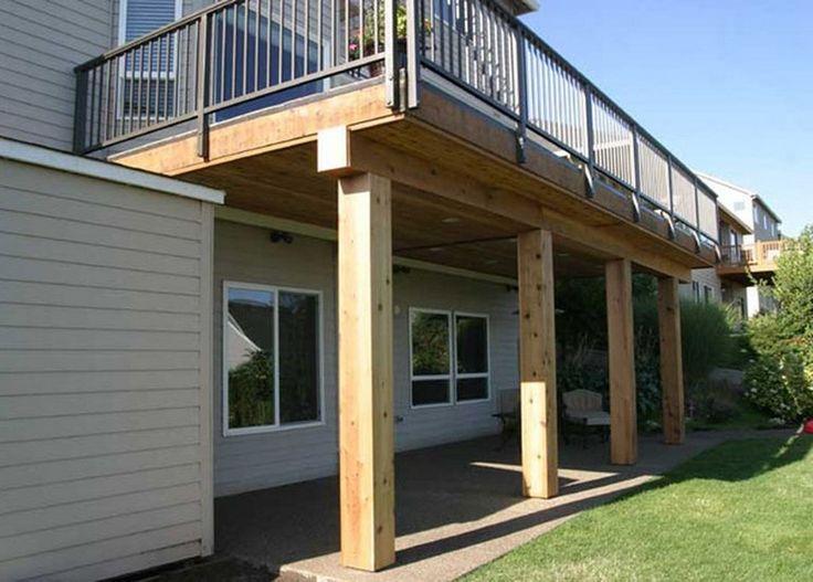 Second Floor Deck Design Ideas
