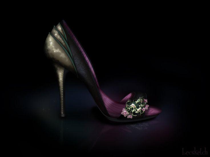 Resultado de imagem para sapatos das princesas disney