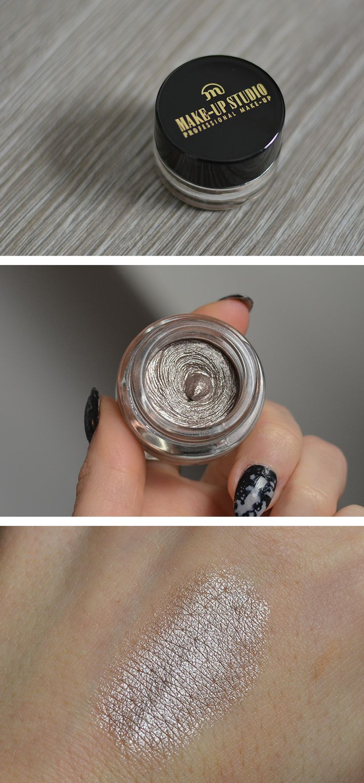 Durable Eyeshadow Mousse in Seductive Silver - let's get it on!