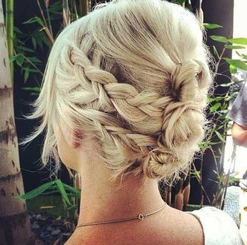 17 Modèles de tresses Sur Cheveux Courts à Apprendre Pour La Rentrée   Coiffure…