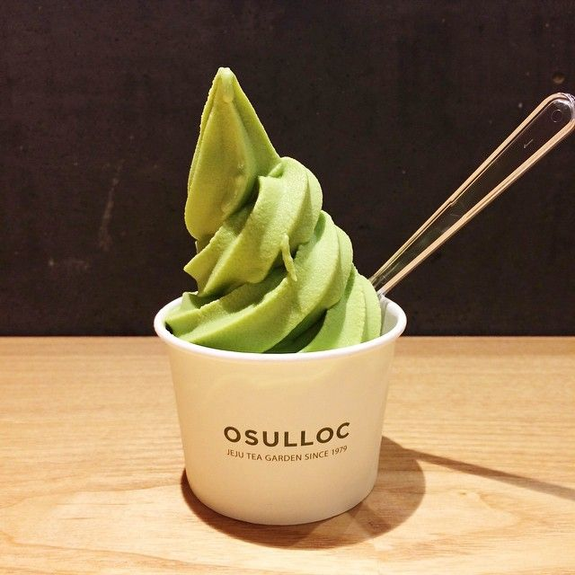 Osulloc Green Tea Ice Cream (Japan)