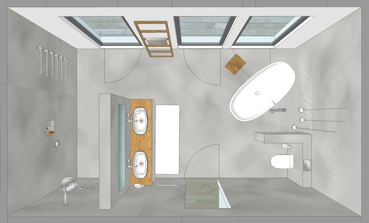 PENTHOUSE_bäder Das Badezimmer ist ein wahr gewordener Wohntraum für jeden Des…