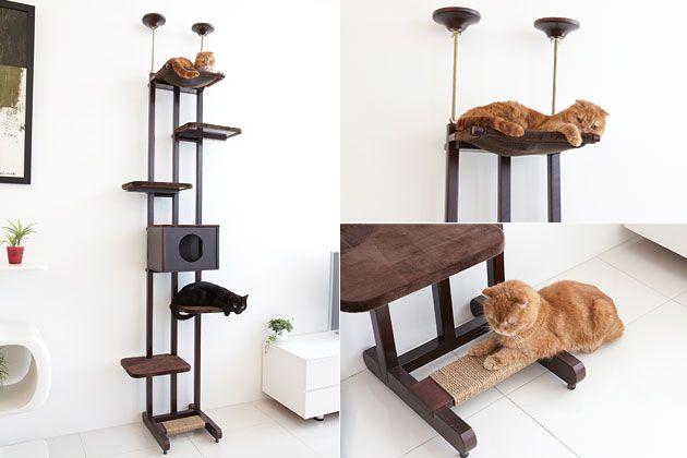 Ware Sky Climber 6-Wide Cat Tree. BEAUTIFULLY designed cat tree!! #$299.00