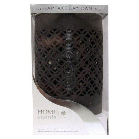 Home Scents Electric Wax Melt Warmer - Black