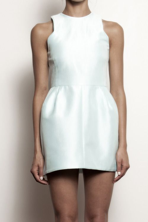 No more little black dress.. It's the little white dress #fashiontrends