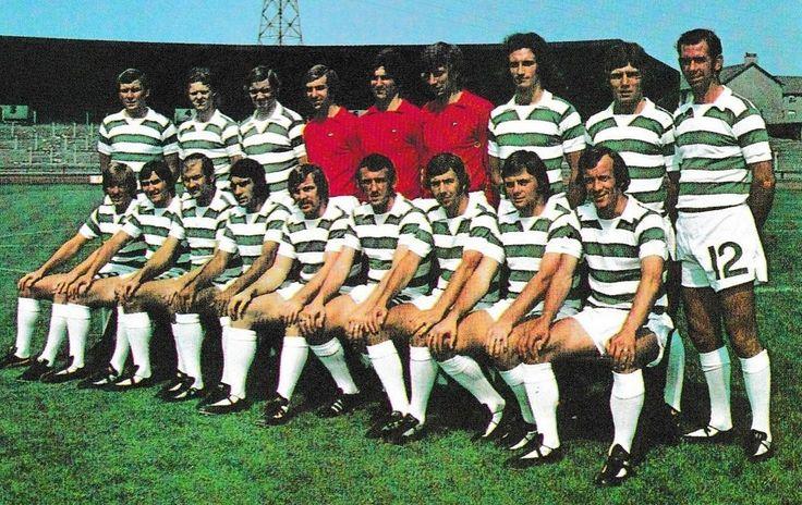 CELTIC FOOTBALL TEAM PHOTO>1974-75 SEASON