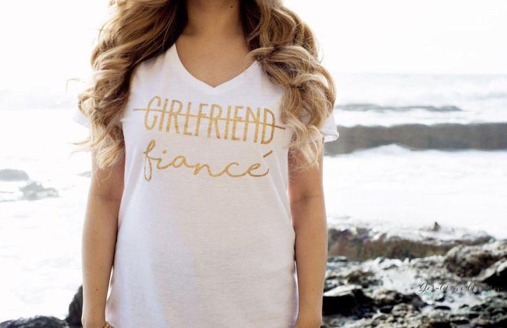 Girlfriend Upgrade Tee   Girlfriend No More Tee   Fiancé Tee littlebrownnsuitcase.com littlebrownnsuitcase  Fiancee t shirt