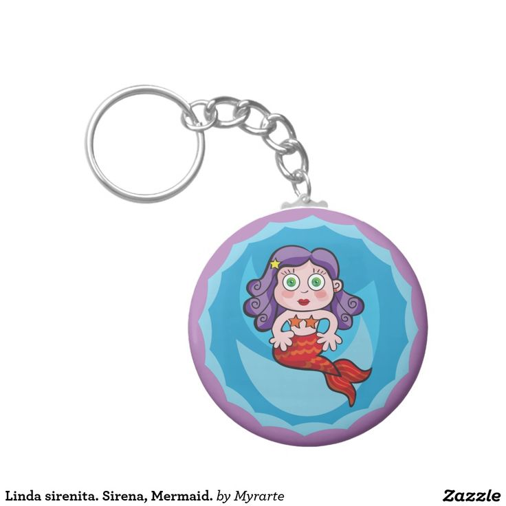 Linda sirenita. Sirena, Mermaid. Producto disponible en tienda Zazzle. Product available in Zazzle store. Regalos, Gifts. Link to product: http://www.zazzle.com/linda_sirenita_sirena_mermaid_basic_round_button_keychain-146670456663503636?CMPN=shareicon&lang=en&social=true&rf=238167879144476949 #llavero #KeyChain #sirena #mermaid