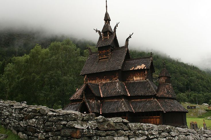 Borgund Stave Church   Located in Borgund, this is the best preserved stave church including all of Norway's 28 extant stave churches. Services are no longer held at Borgund Church; instead the triple nave stave church is used as a museum operated by the Society for the Preservation of Ancient Norwegian Monuments.