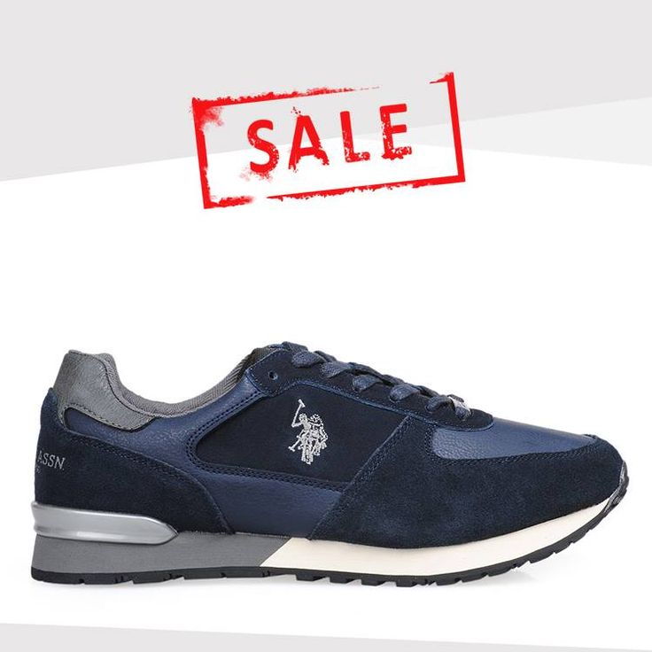 Can't miss that deal! Αυτά τα ανδρικά #uspolo sneakers με 30% Έκπτωση είναι ότι αναζητούσες!