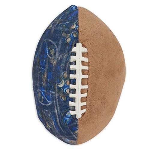 MuttNation Fueled by Miranda Lambert Patchwork Football Dog Toy *** Visit the image link more details.(This is an Amazon affiliate link)