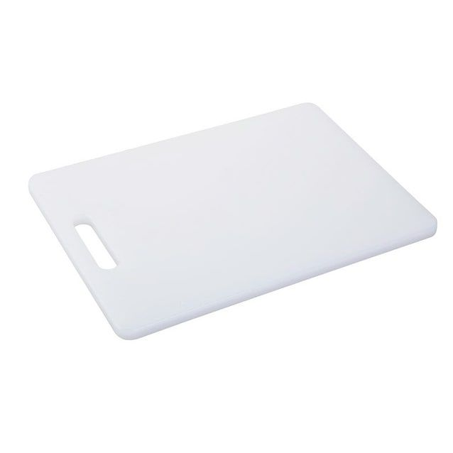 "Good Cook 10098 Plastic Cutting Board, 8"" x 11"", White"