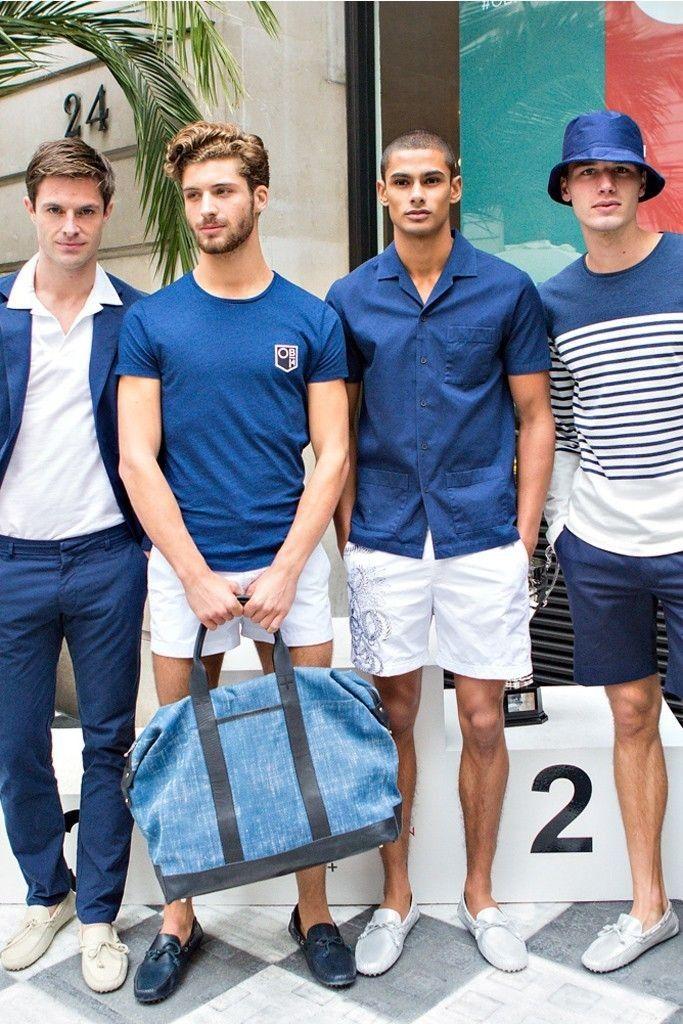 ブルー×ホワイトは女子にモテる色合わせ