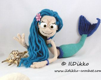 Free Amigurumi Mermaid Patterns : Best water mammal crochet patterns images