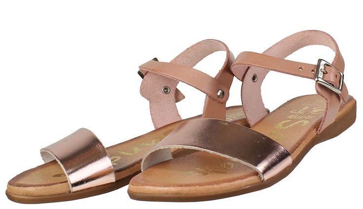 Σανδάλια+για+κορίτσια+Oh!+My+Sandals+σε+χρώμα+nude/χρυσό-ρόζ.  ΥΛΙΚΟ:+Δέρμα+βακέτα.  ΕΣΩΤΕΡΙΚΟ+ΠΑΤΑΚΙ:+Γνήσιο+μαλακό+δέρμα.  ΣΟΛΑ:+Αντιολισθητική.  ΧΩΡΑ+ΚΑΤΑΣΚΕΥΗΣ:+Ισπανία.