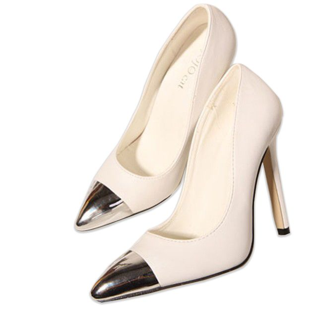 Hot Sale Fashion Pointed Toe High Heel Pumps For Women CZ 4446
