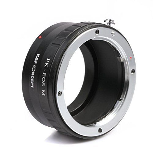 EOS to FX Adapter,K&F Concept EOS Adapter FX Adapter FXEF Canon EOS EF/EF-S Lens to Fujifilm X Mount Camera Adapter EF Lens Adapter EOS-FX