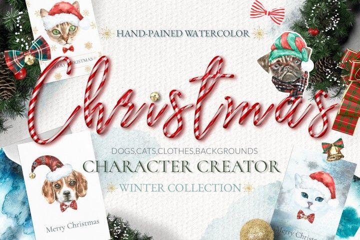 Christmas Character Creator By Catherine Wheel
