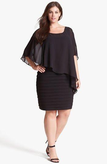 Modernos Vestidos de moda para Gorditas | Vestidos de Gorditas 2015