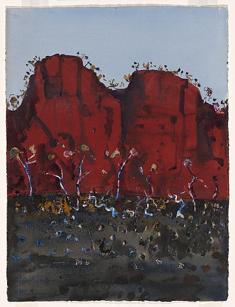 Fred WILLIAMS, (Iron ore cliff face)