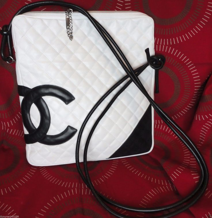 SALE ! $2900 100% AUTHENTIC CHANEL QUILTED LEATHER CROSSBODY BAG IN VERY GOOD UC | eBay