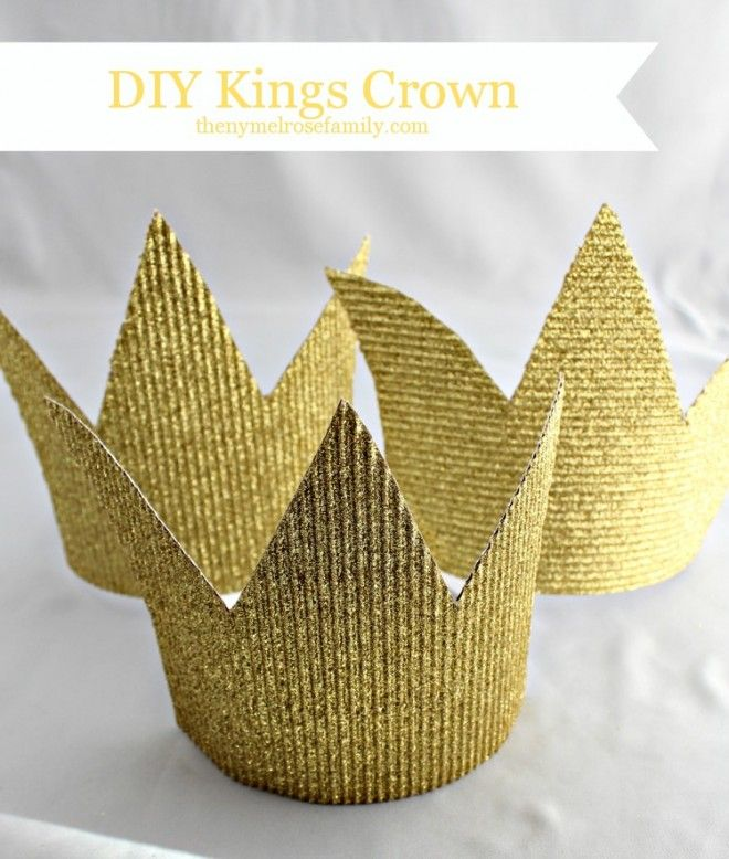 Photo booth diy prop...Party Favors for Kids: DIY Kings Crown | The NY Melrose Family - Part 2
