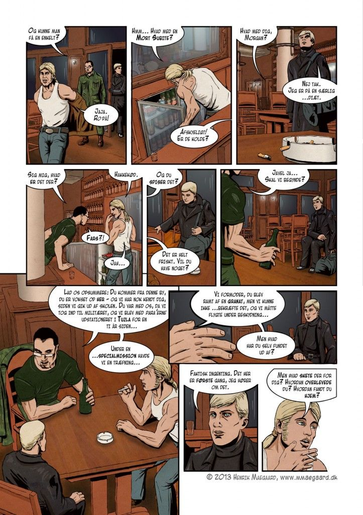 """Act 1 , page 23 of """"The Wild Hunt"""""""