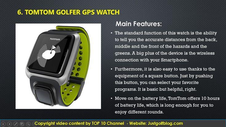 Top 10 Best Golf GPS Watch 2017 Reviews. Golf GPS Watch. Best Golf GPS Watch. Golf Equipment. #golfGPS #GPSWatch #GolfGPSWatch #golfequipment #golf