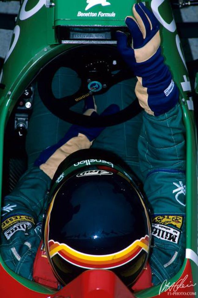 Thierry Boutsen, Benetton B187-Ford V6Turbo, 1987 Hungary GP (Finished 4th)!