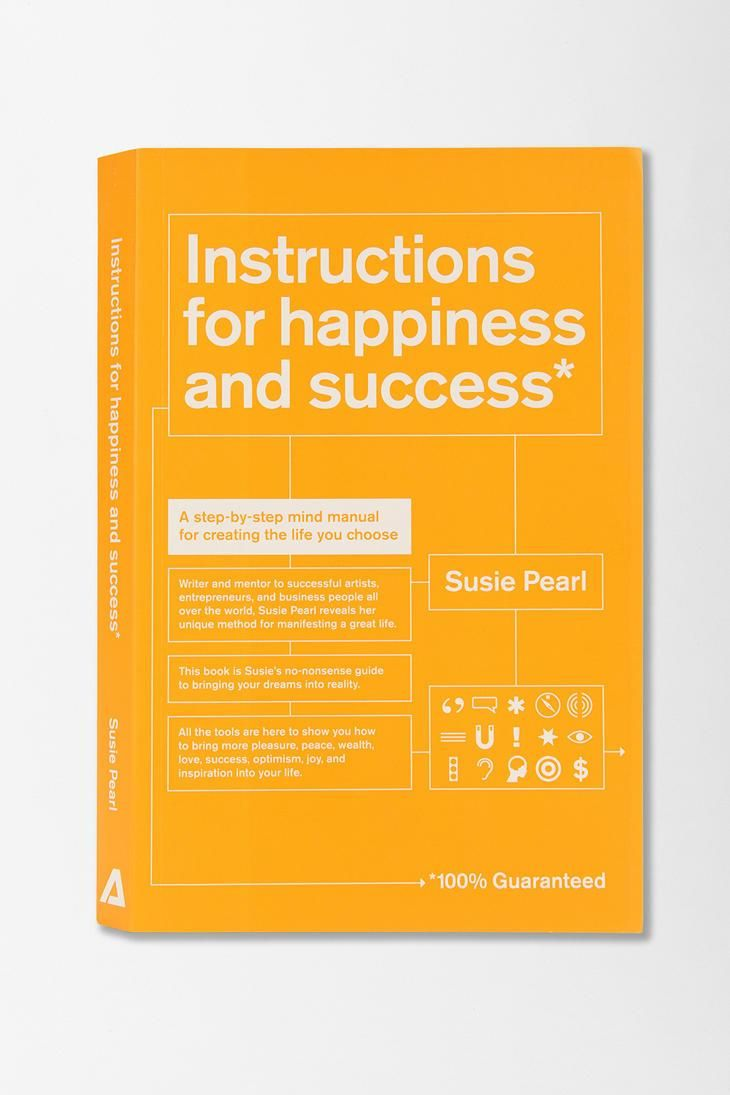 Instructions For Happiness And Success By Susie Pearl #urbanoutfitters