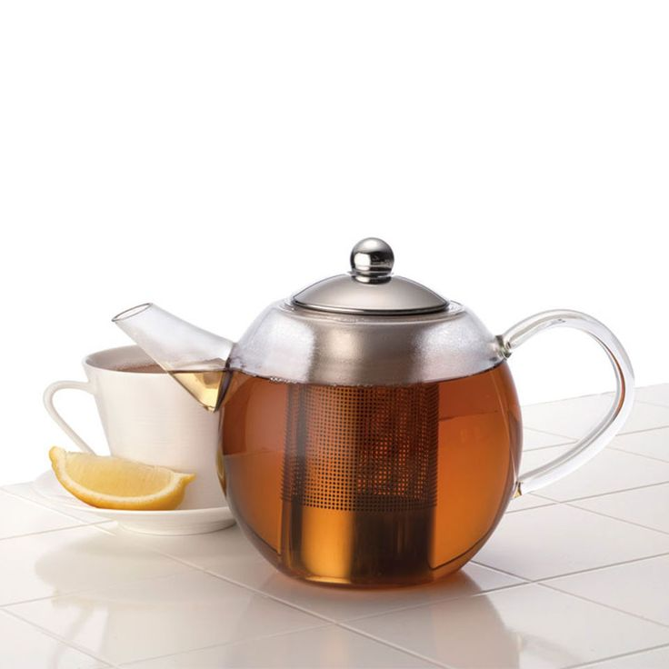 Bonjour Round Glass Teapot - Beyond the Rack