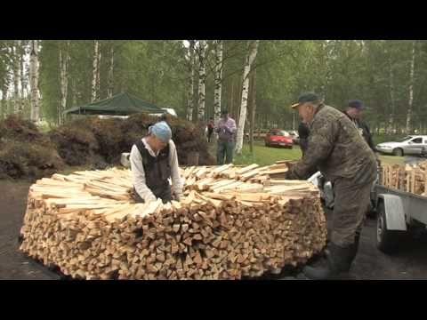 Suomalaista kansanperinnettä – Tervanpoltto
