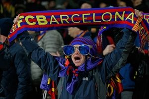 Arsenal 0-2 Barcelona: Champions League last 16 first leg  in pictures